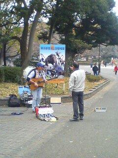大道芸人(^.^)
