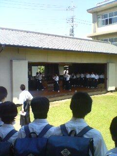 学校説明会(^o^)