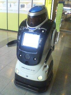 案内ロボット(^o^)
