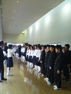 合唱コンクール(^o^)