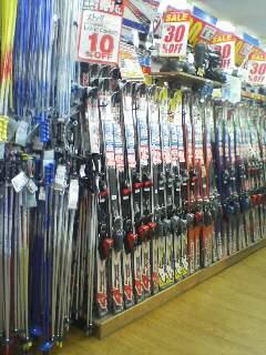 スキー用具(^.^)