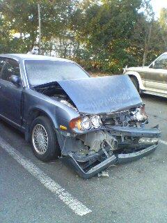事故車(+_+)