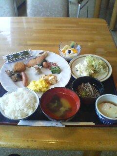 朝食(^o^)