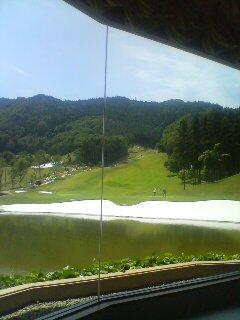 ゴルフ場ランチ(^o^)