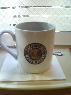 一杯のコーヒー(^o^)