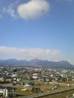 榛名山(^o^)