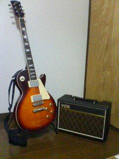 エレキギター(^o^)