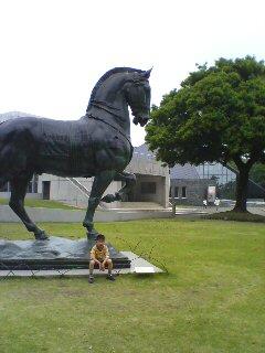 県立近代美術館(^o^)