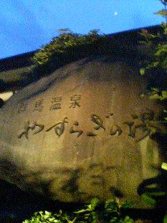 天然温泉(^o^)