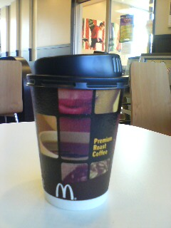 Macコーヒー(^o^)