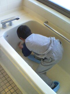 風呂掃除(^o^)