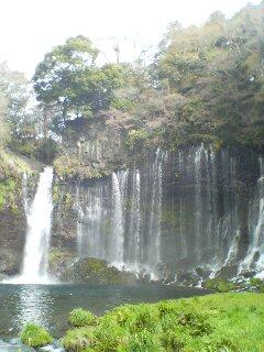 白糸の滝(^o^)
