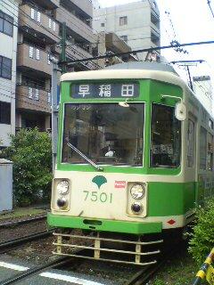 路面電車(^o^)