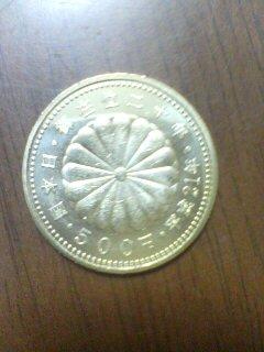 記念硬貨(^o^)