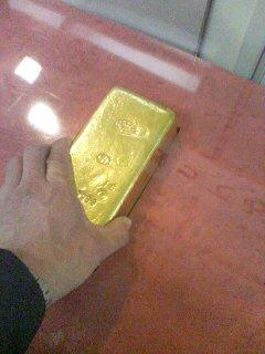 金塊(^o^)