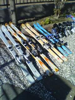 スキー(^o^)