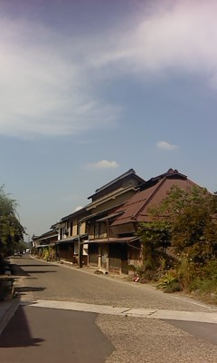 宿場町(^O^)