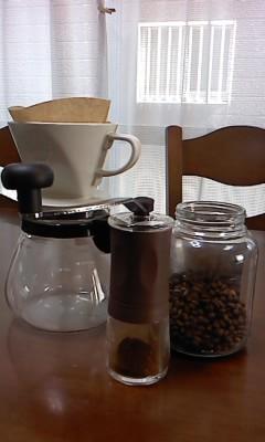 ドリップコーヒー(^O^)