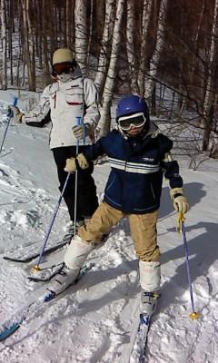 スキー2(^o^)