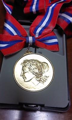 金メダル(^o^)