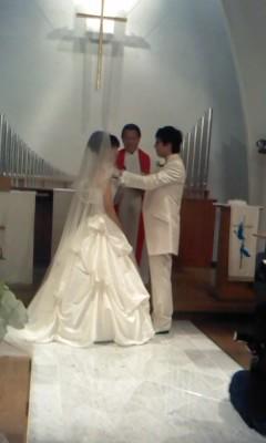 結婚式in神戸(^o^)