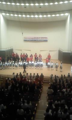 合唱フェスティバル(^o^)