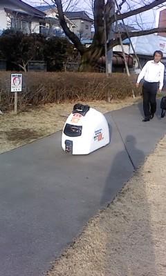ロボット(^o^)