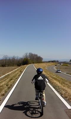 サイクリング(^o^)