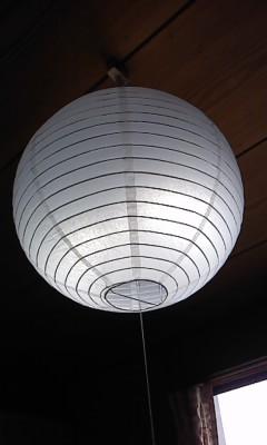 オリジナル照明(^o^)