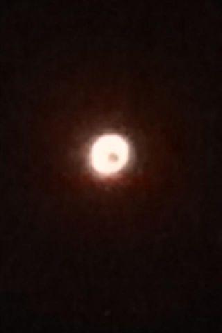 金環日食(^o^)