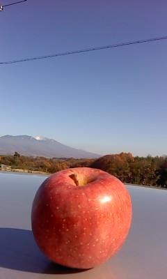 リンゴ(^o^)