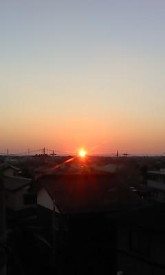 初日の出(^o^)