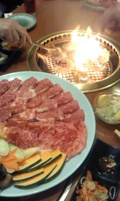 焼肉(^o^)
