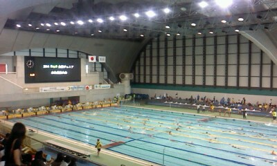 全国水泳大会(^o^)