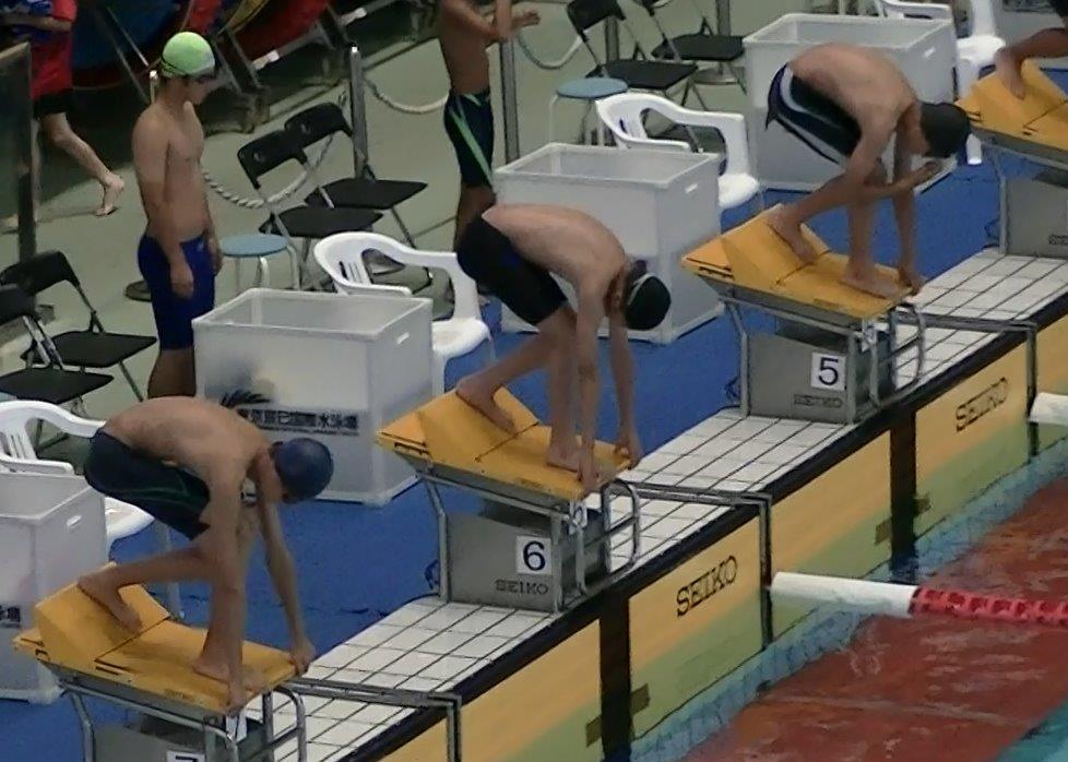 続水泳大会(^o^)