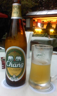 タイのビール(^o^)